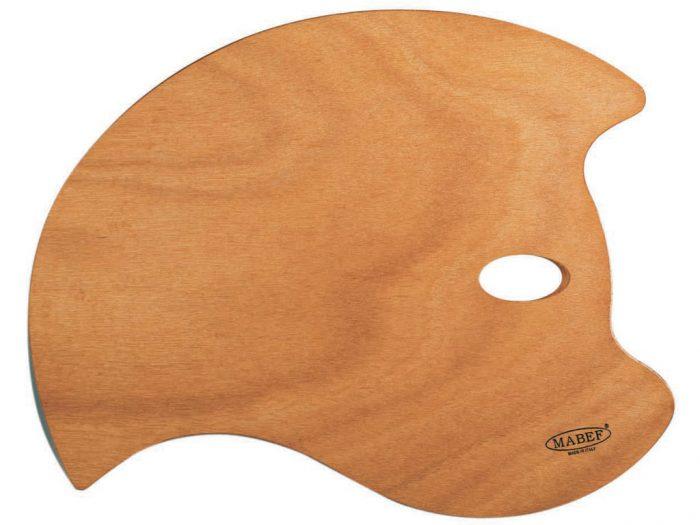 Paletė medinė M41 36×49 ovali Bat