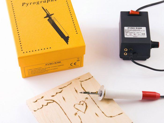 Pirografijos aparatas L&B Education