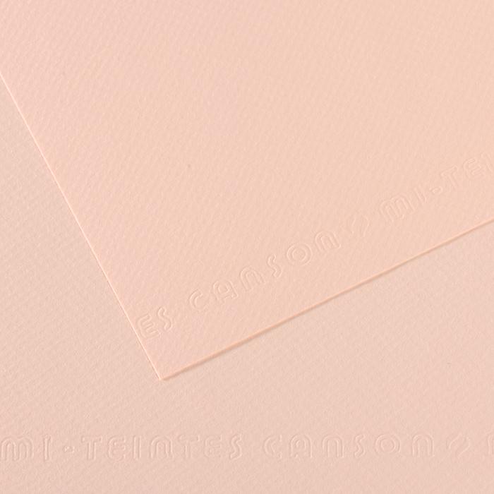 Pastellpaber MiTeintes 50x65cm/160g 103 heleroosa