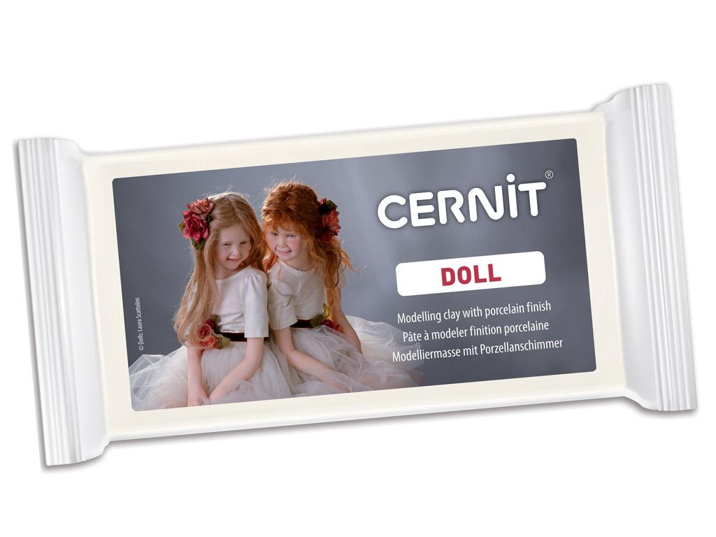 Polümeersavi Cernit Doll 500g 010 white