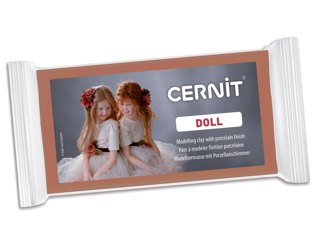Polümeersavi Cernit Doll 500g 807 caramel