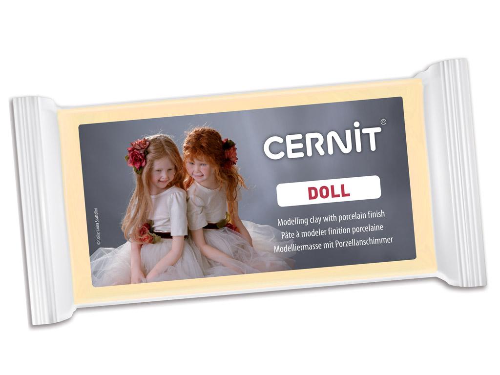 Polümeersavi Cernit Doll 500g 744 almond