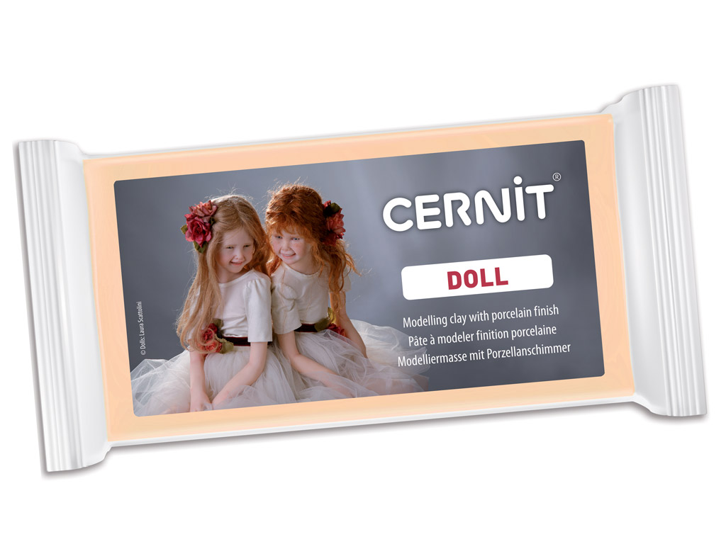 Polümeersavi Cernit Doll 500g 855 skin