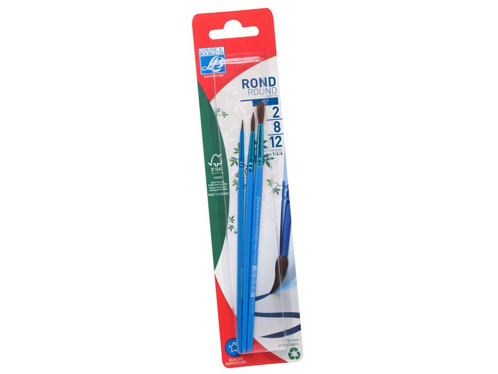 Brush C&Co no2+8+12 poney