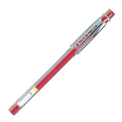 Geliniai rašikliai Pilot G-TEC-C4 raudona