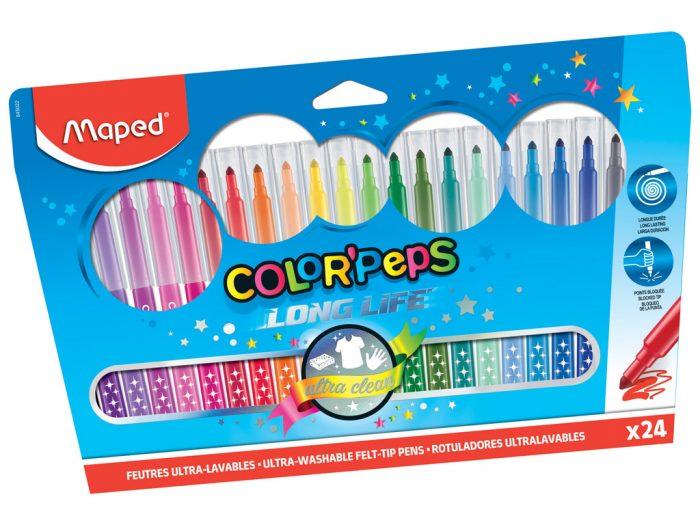 Flomasteris Maped Color'Peps Long Life - 1/2