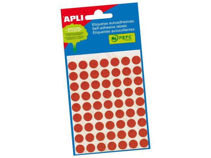Etikett Apli d=8mm 3tk