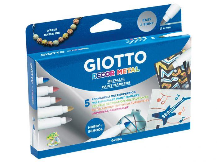 Viltpliiats Giotto Decor Metal - 1/2
