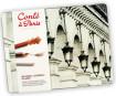 Eskizinių pieštukų komplektas Conte a Paris Sketching metalinė dėžutė