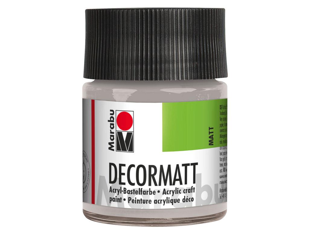 Dekoorvärv Decormatt 50ml 782 metallic-silver