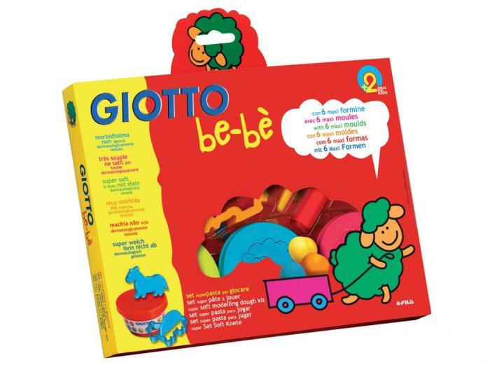Lipdymo masė rinkinys Giotto be-be