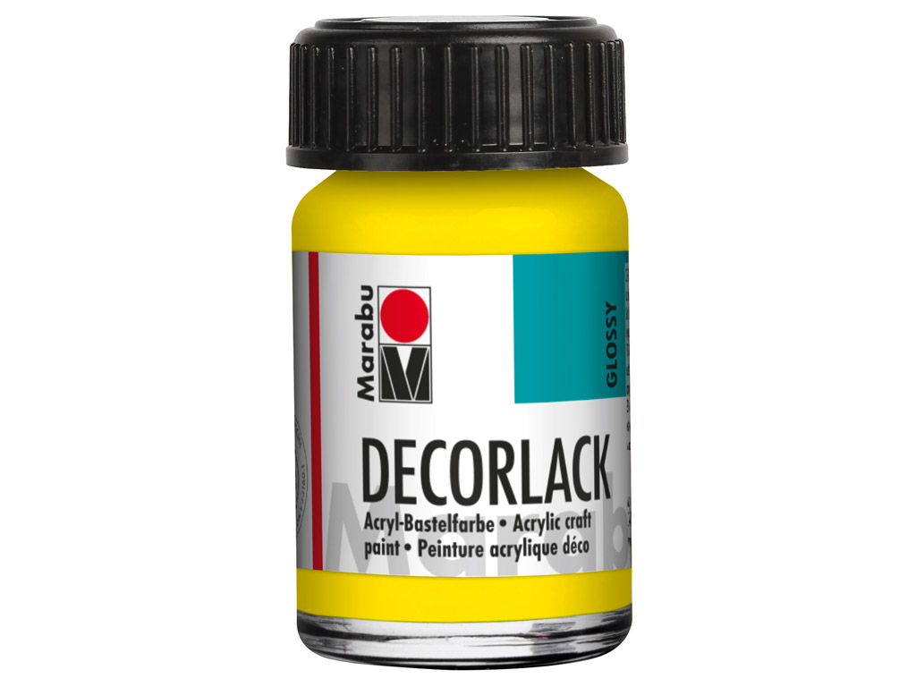 Dekoorvärv Decorlack 15ml 019 yellow