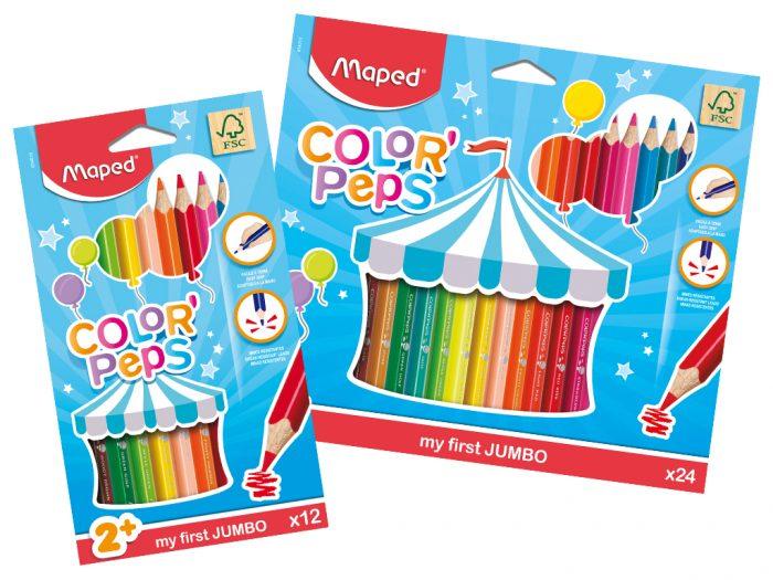 Värvipliiats Maped Color'Peps Early Age Jumbo - 1/2