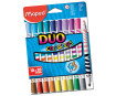 Viltpliiats ColorPeps Duo 10=20tk pestav