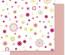 Popierius Scrapbooking Folia 30.5x30.5/190g Flowers 01