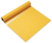 Paberlaudlina 0.4x3.6m rullis Just Dots Yellow