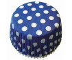 Keksiukų forma 50x25mm taškeliai mėlyna-balta 60vnt. blister.