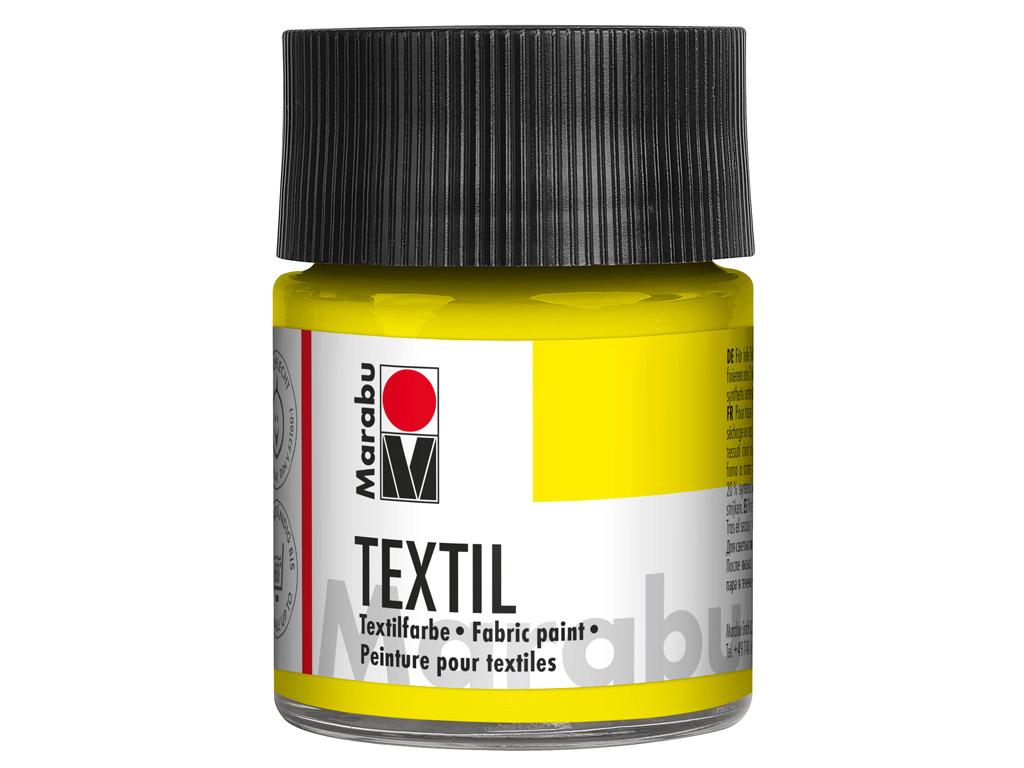 Tekstilės dažai 50ml 020 lemon