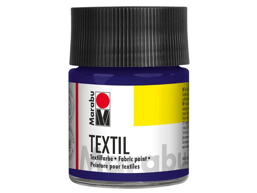 Tekstilės dažai 50ml 051 dark violet