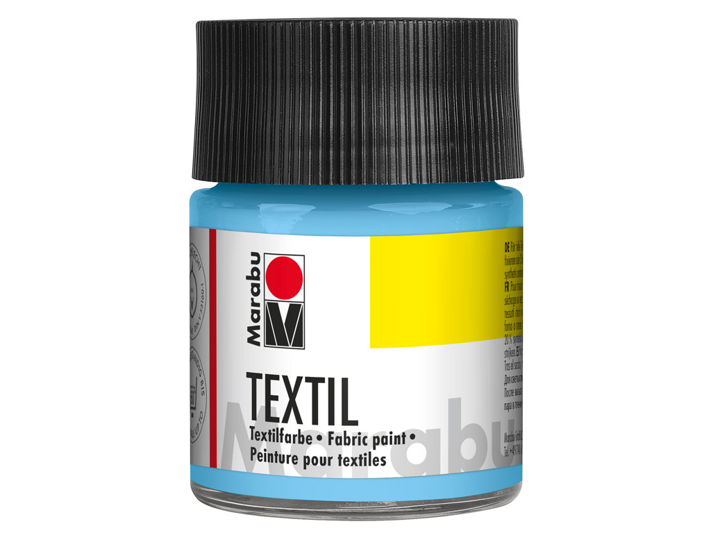 Tekstilės dažai 50ml 090 light blue