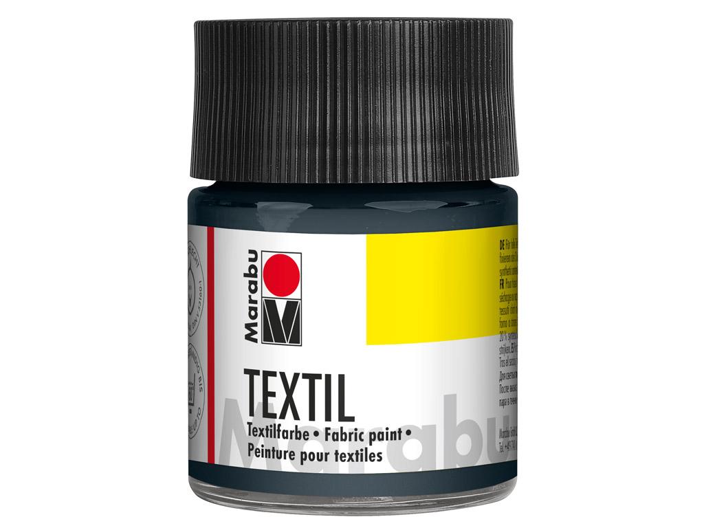 Tekstilės dažai 50ml 078 grey