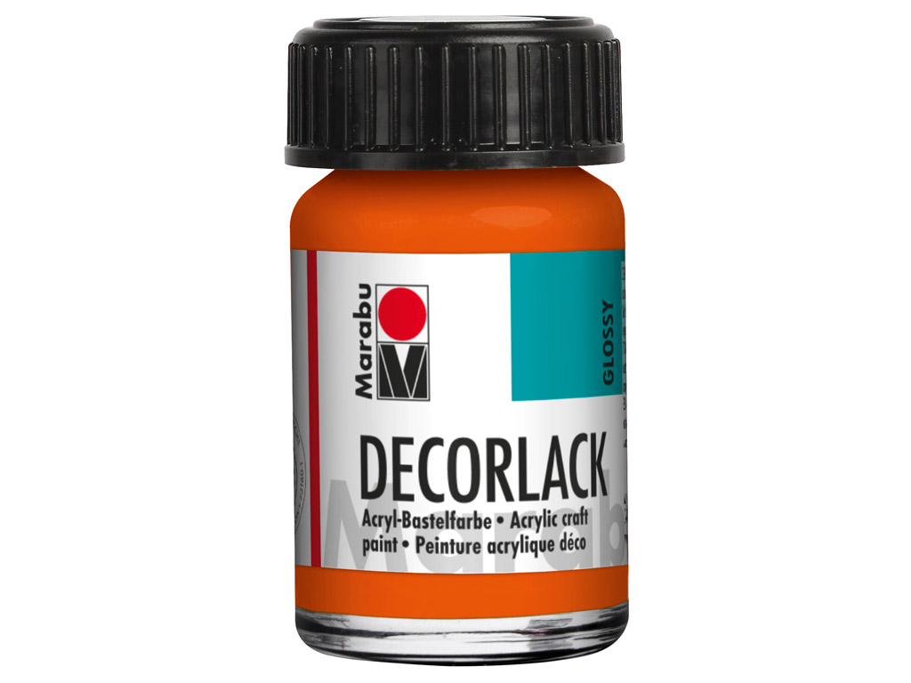 Dekoorvärv Decorlack 15ml 013 orange