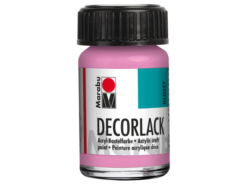 Dekoratyviniai dažai Decorlack 15ml 033 pink