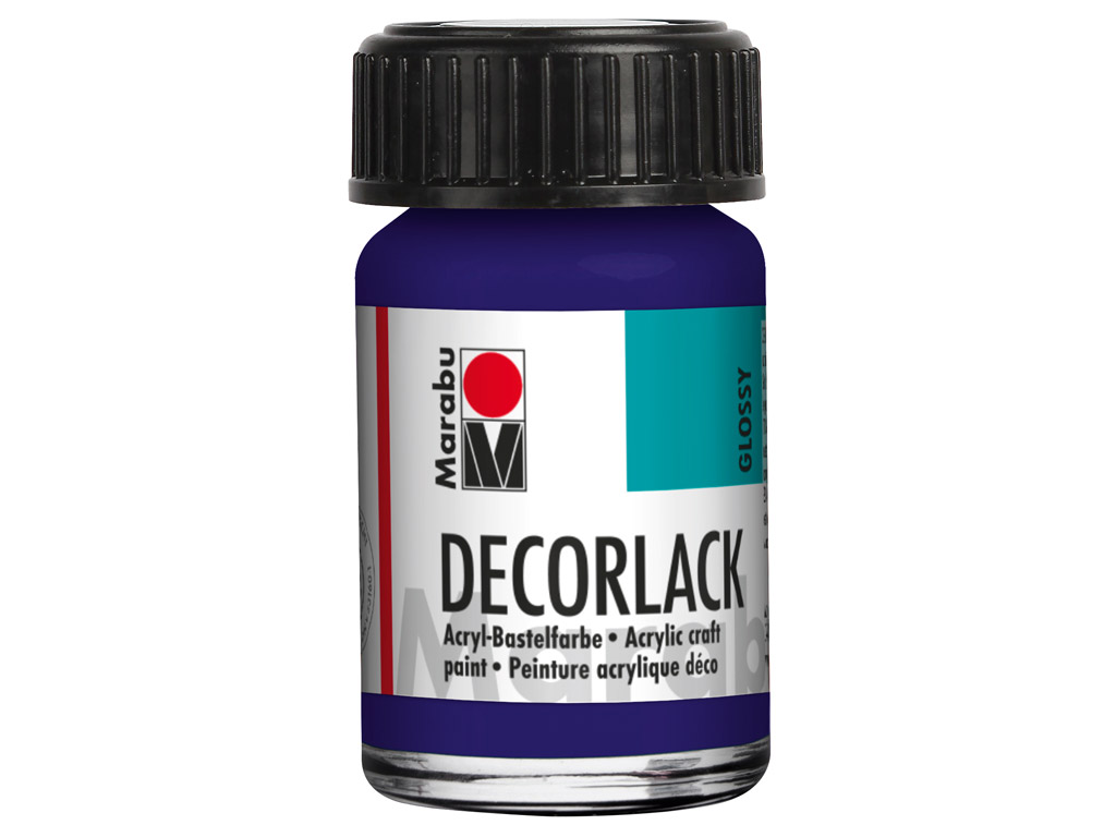 Dekoorvärv Decorlack 15ml 051 dark violet