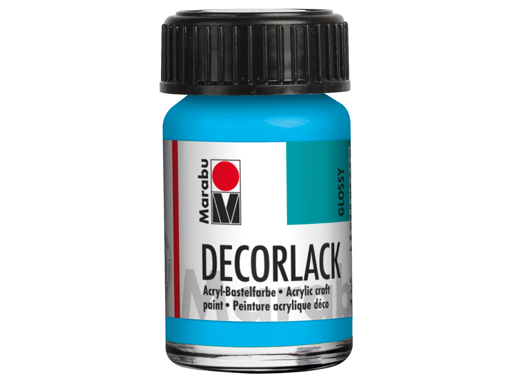 Dekoorvärv Decorlack 15ml 090 light blue