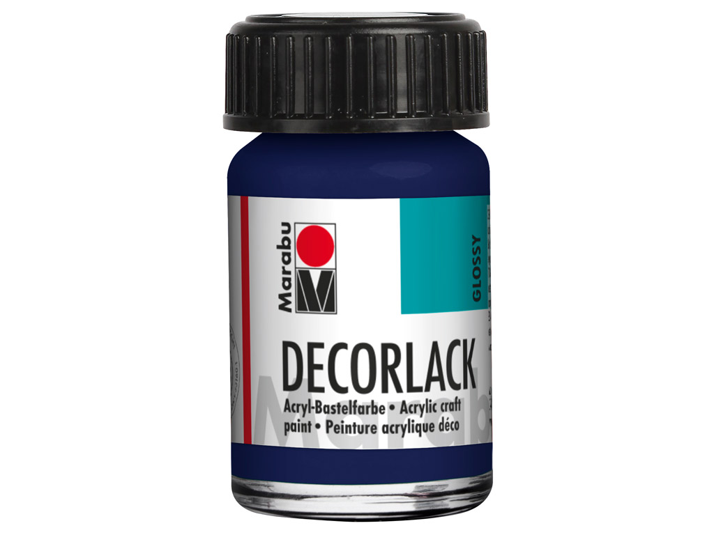 Dekoorvärv Decorlack 15ml 055 dark ultramarine