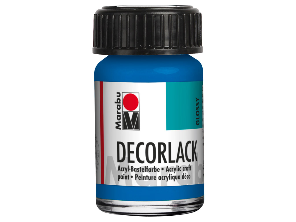 Dekoorvärv Decorlack 15ml 095 azure blue