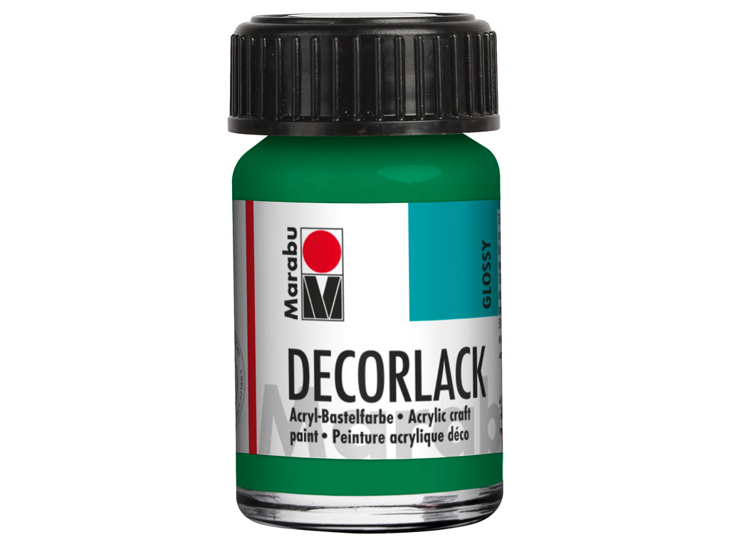 Dekoorvärv Decorlack 15ml 067 rich green