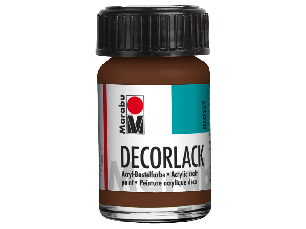 Dekoorvärv Decorlack 15ml 040 medium brown