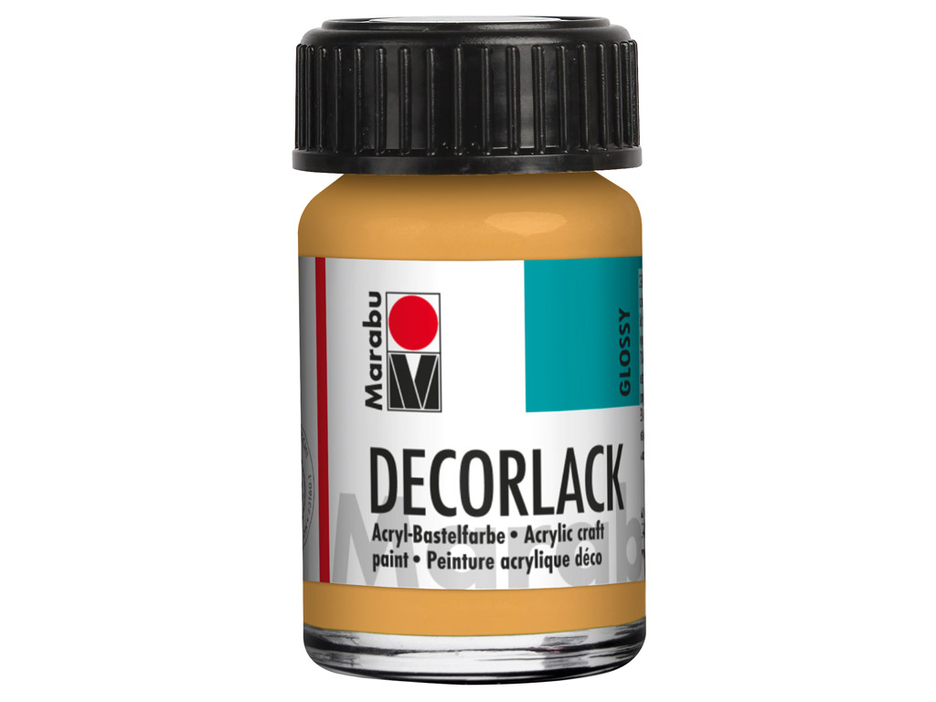 Dekoorvärv Decorlack 15ml 784 metallic-gold