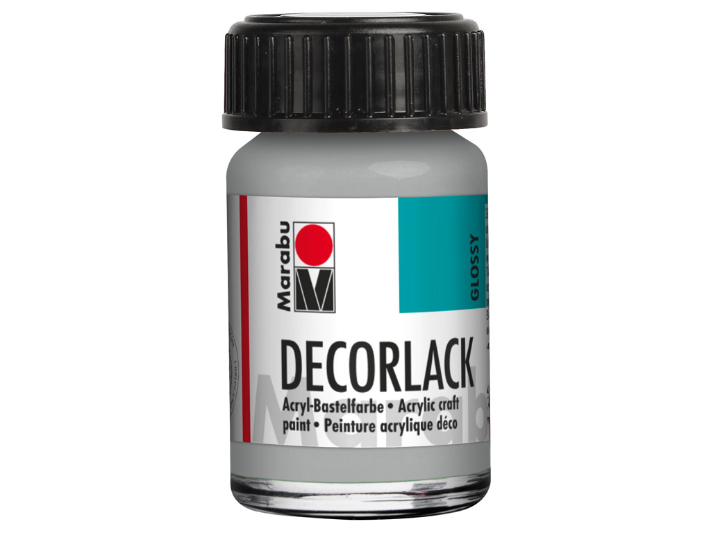Dekoorvärv Decorlack 15ml 782 metallic-silver