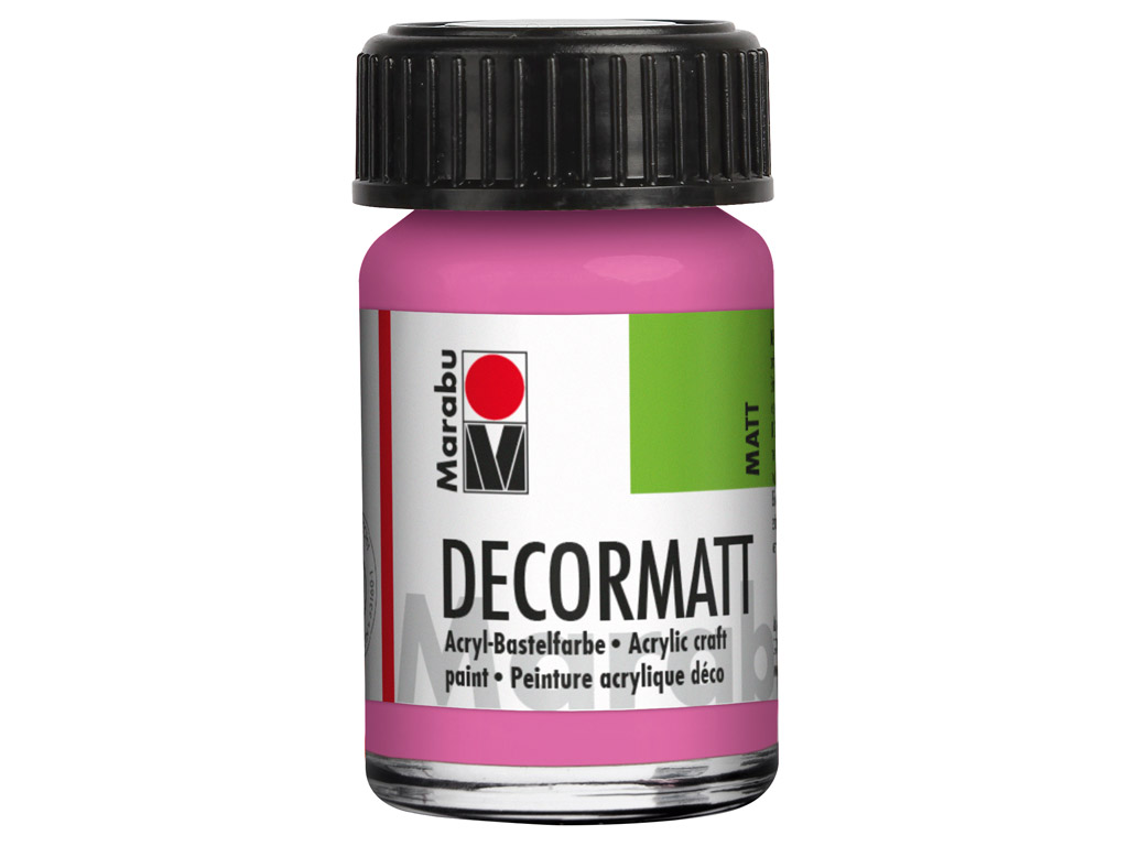 Dekorkrāsa Decormatt 15ml 033 pink
