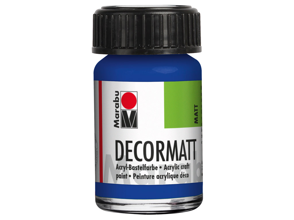 Dekoorvärv Decormatt 15ml 055 dark ultramarine