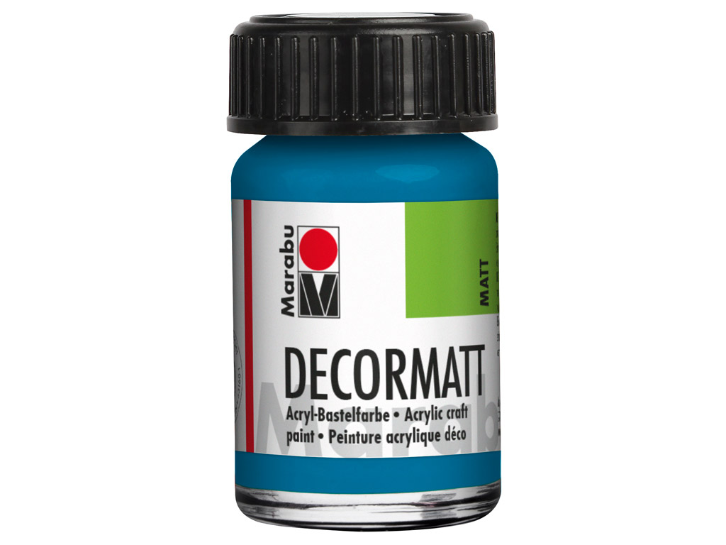 Dekorkrāsa Decormatt 15ml 056 cyan