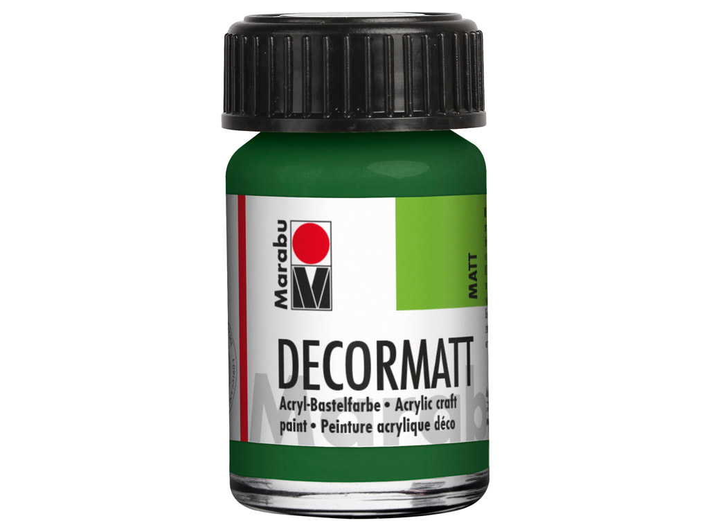 Dekoorvärv Decormatt 15ml 065 olive green