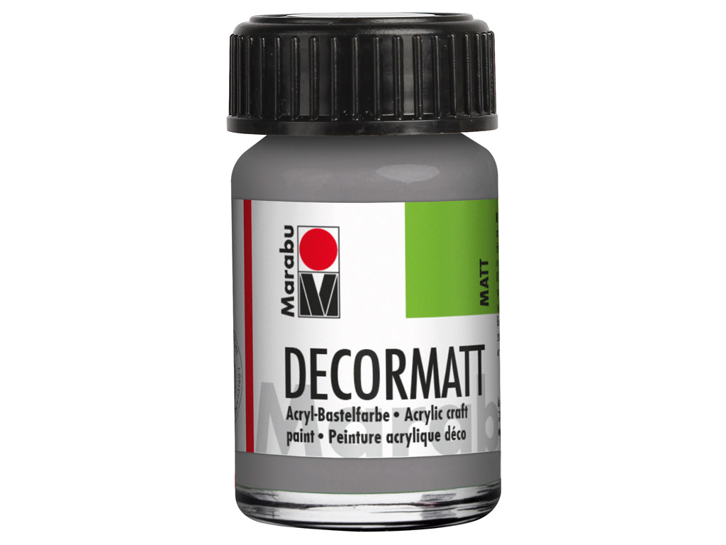 Dekoorvärv Decormatt 15ml 278 light grey