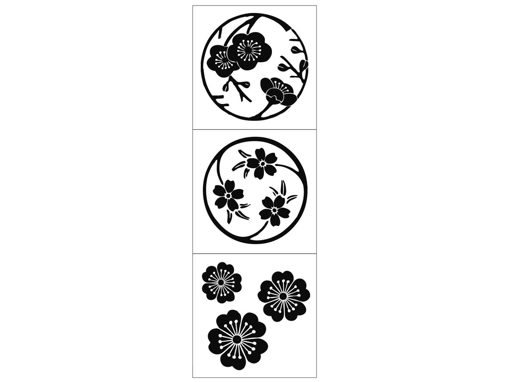 Tempel Aladine Cube Sakura Flowers