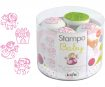 Zīmogs Aladine Stampo Baby 4gab. Princess + zīmoga spilventiņš rozā