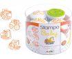 Zīmogs Aladine Stampo Baby 4gab. Engines + zīmoga spilventiņš oranža
