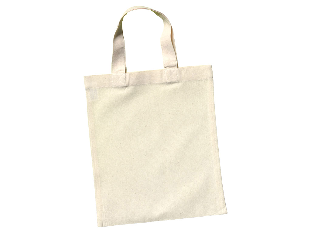 Medvilninis maišelis 24x28cm trumpos rankenos
