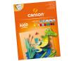 Kartonas spalvotos Canson Kids 24x32/185g 10 lapų