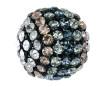 Kristallidega kera Swarovski 40519 19mm BKDE black degradee
