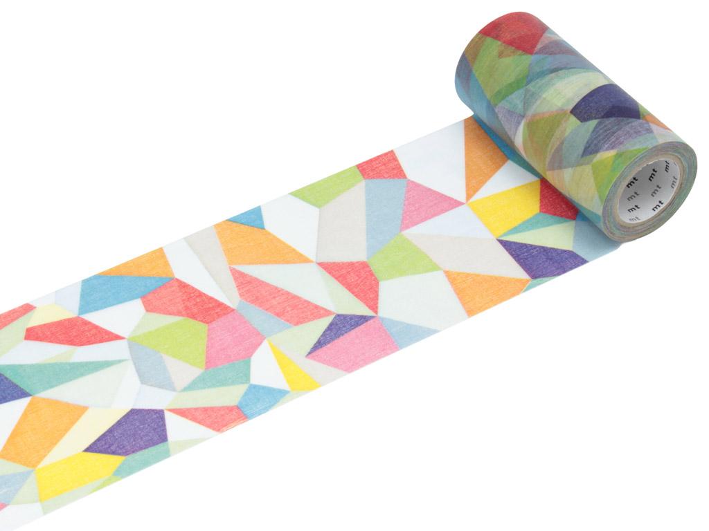 Washi dekoratyvi lipni juostelė mt casa shade 100mmx10m random S