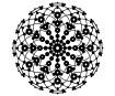 Šablonas Marabu Silhouette 30x30cm Lace Rosette
