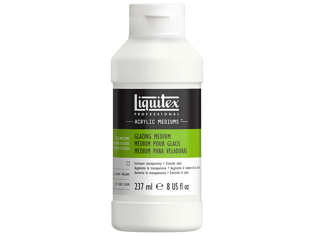 Speciali priemonė akriliniams dažams Liquitex glazing 237ml