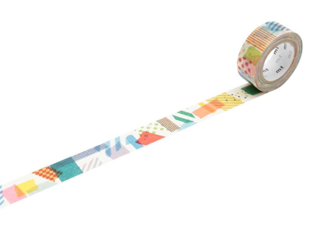 Washi teip mt for kids 15mmx7m peta peta